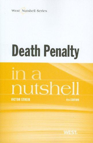 9780314279569: Death Penalty in a Nutshell (Nutshells)