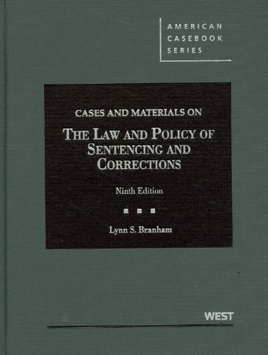 Cases and Materials on the Law and: Branham, Lynn