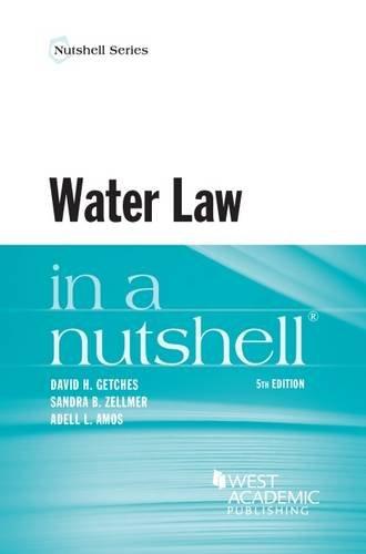 9780314280695: Water Law in a Nutshell