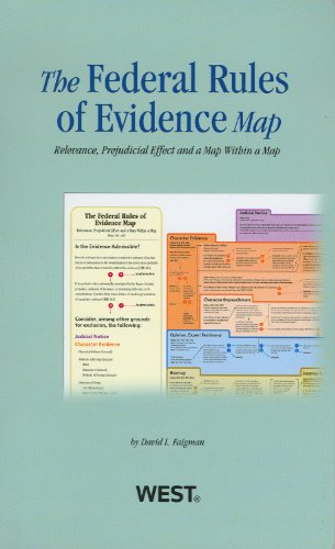 9780314281012: Federal Rules of Evidence Map, 2012-2013