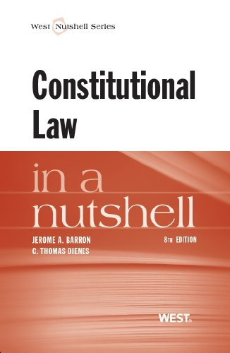 9780314281944: Constitutional Law in a Nutshell