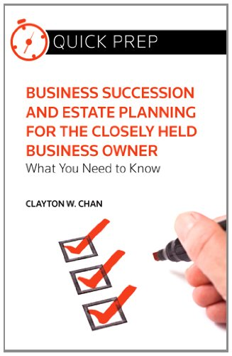 9780314282088: Business Succession and Estate Planning for the Closely Held Business: What You Need to Know (Quick Prep)