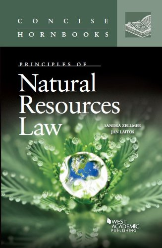 9780314282231: Principles of Natural Resources Law (Concise Hornbook Series)