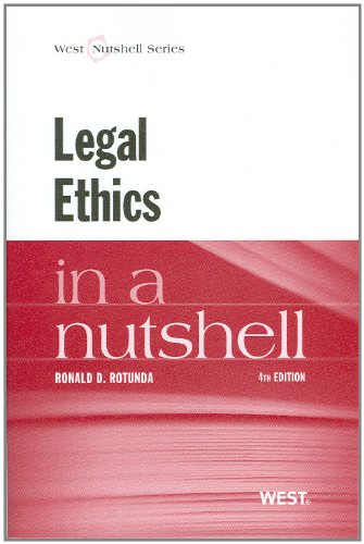 9780314282248: Legal Ethics in a Nutshell