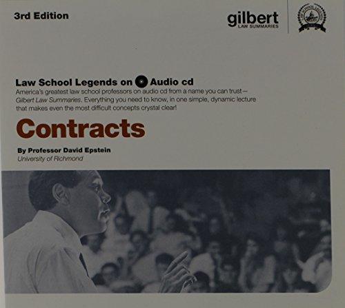 9780314282590: Law School Legends Audio on Contracts (Law School Legends Audio Series)