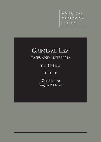9780314282866: Criminal Law (American Casebook Series)