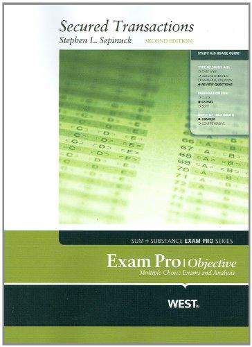9780314283252: Secured Transactions Exam Pro (Exam Pro Series)