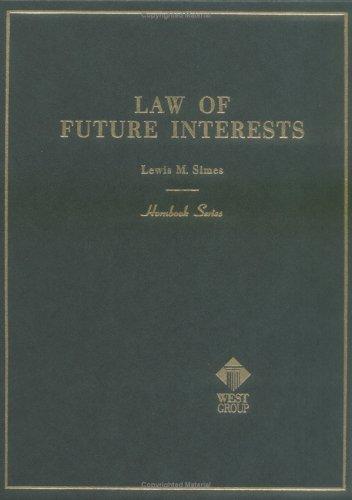 9780314283627: Future Interests (Hornbooks)