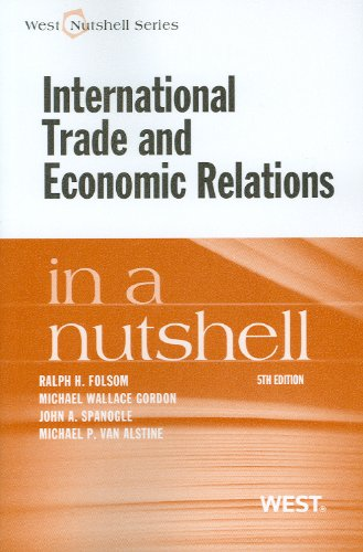 9780314284358: International Trade and Economic Relations in a Nutshell