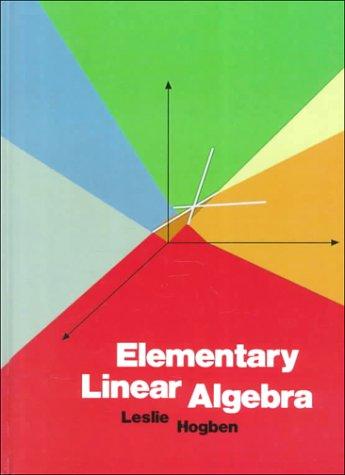 9780314284976: Elementary Linear Algebra
