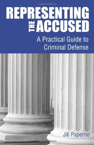 9780314285294: Representing the Accused: A Practical Guide to Criminal Defense