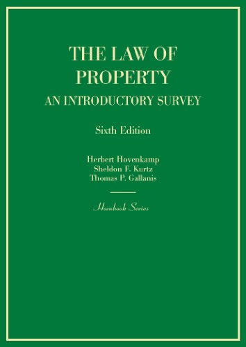 9780314285492: Hornbook on the Law of Property: An Introductory Survey, 6th (Hornbooks)