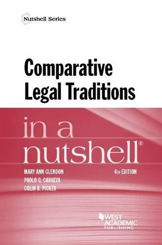 9780314285607: Comparative Legal Traditions in a Nutshell (Nutshells)