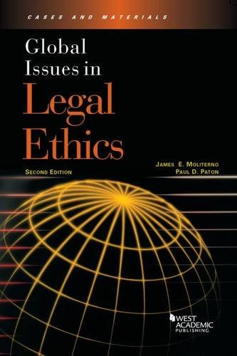9780314285669: Global Issues in Legal Ethics