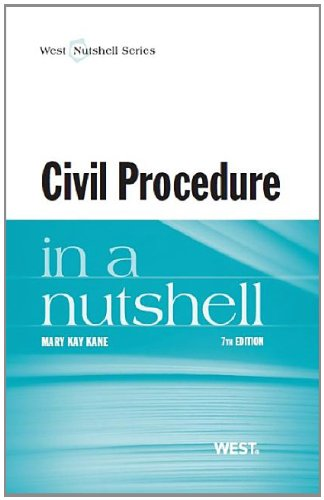 9780314285881: Civil Procedure in a Nutshell (Nutshells)