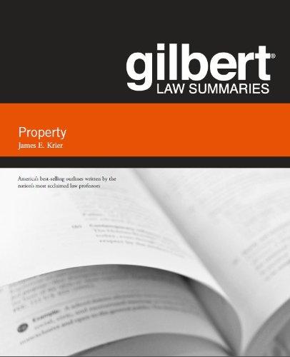 9780314286062: Gilbert Law Summary on Property (Gilbert Law Summaries)