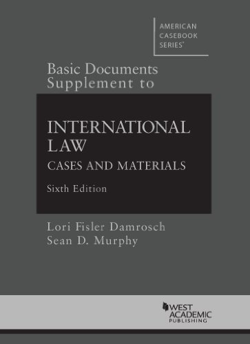 9780314286451: Basic Documents Supplement to International Law (American Casebook Series)