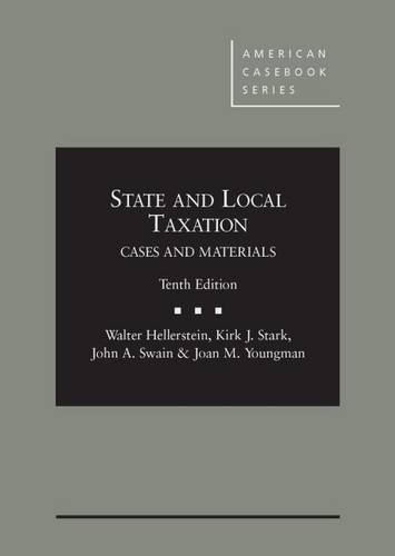 9780314286987: State and Local Taxation (American Casebook Series)