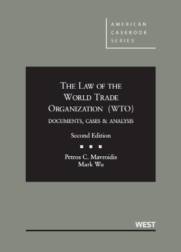 an analysis of the topic of the world trade organisation Accession to the world trade organization a legal analysis accession to the world trade organization will be invaluable reading for academics.
