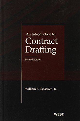 9780314287236: An Introduction to Contract Drafting (Coursebook)