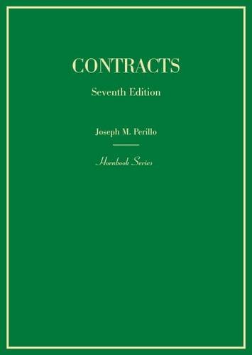 9780314287700: Contracts (Hornbooks)