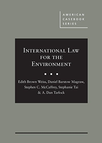 9780314288271: International Law for the Environment (American Casebook Series)