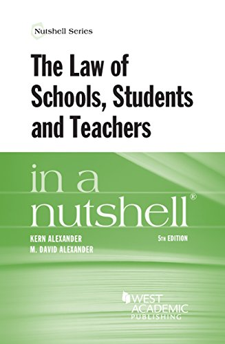 9780314288851: The Law of Schools, Students and Teachers in a Nutshell (Nutshells)