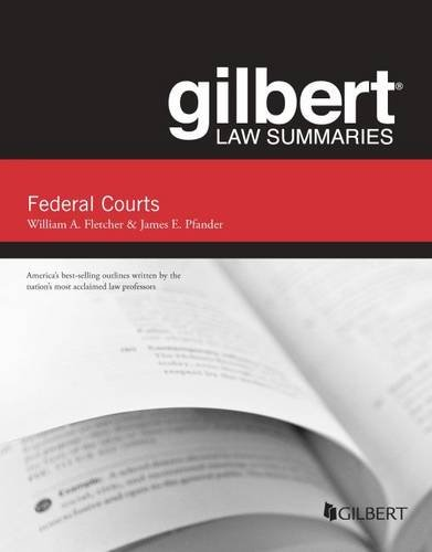 9780314288967: Gilbert Law Summaries on Federal Courts