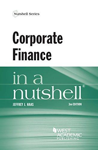9780314289636: Corporate Finance in a Nutshell (Nutshells)