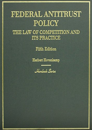 9780314290366: Federal Antitrust Policy, The Law of Competition and Its Practice (Hornbooks)