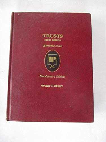 9780314351401: Trusts/Practitioner's Edition (Hornbook Series)