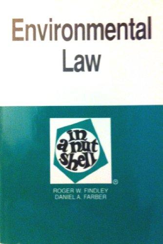 9780314408075: Environmental law in a nutshell (West Nutshell series)