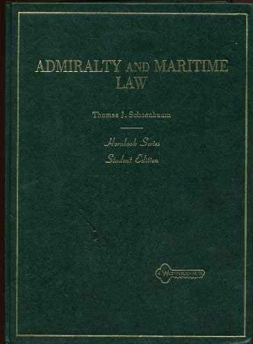9780314421081: Admiralty and maritime law (Hornbook series)