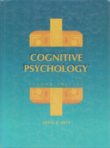 9780314469342: Cognitive Psychology