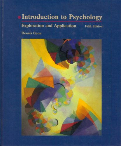 9780314473493: Introduction to Psychology: Exploration and Application