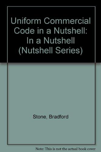 9780314562715: Uniform Commercial Code in a Nutshell (Nutshell Series)