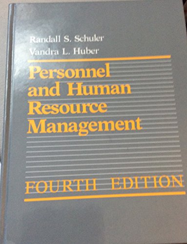 9780314562777: Personnel and Human Resource Management