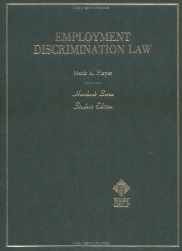 9780314589163: Employment Discrimination Law (Hornbooks)