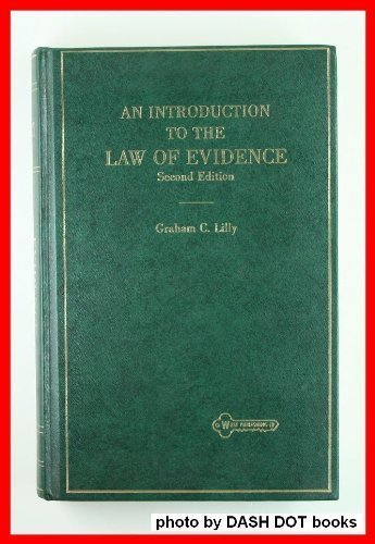 9780314592880: An Introduction to the Law of Evidence