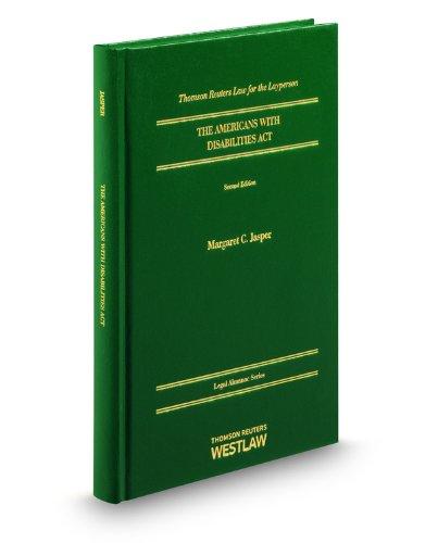 American With Disabilities Act, 2d (Legal Almanacs): Jasper, Margaret