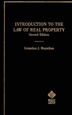 9780314605559: Introduction to the Law of Real Property: An Historical Background of the Common Law of Real Property and Its Modern Application (American Casebook)