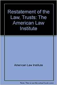 9780314606884: Restatement of the law, second, trusts 2d: As adopted and promulgated by the American Law Institute at Washington, D.C., May 23, 1957