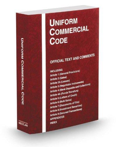 9780314615817: Uniform Commercial Code, 2013-2014 ed.