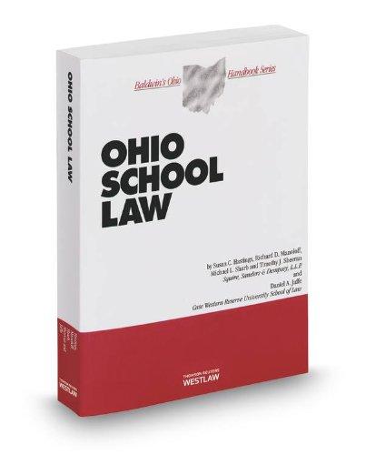 Ohio School Law, 2013-2014 ed. (Baldwin's Ohio Handbook Series): Daniel Jaffe, Michael Sharb, ...