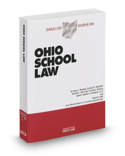 9780314622808: Ohio School Law, 2013 ed. (Baldwin's Ohio Handbook Series)