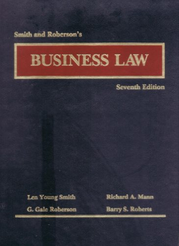 9780314623980: Business Law