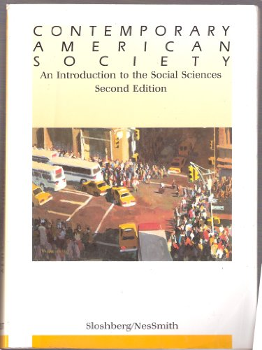 9780314624833: Contemporary American Society: An Introduction to the Social Sciences