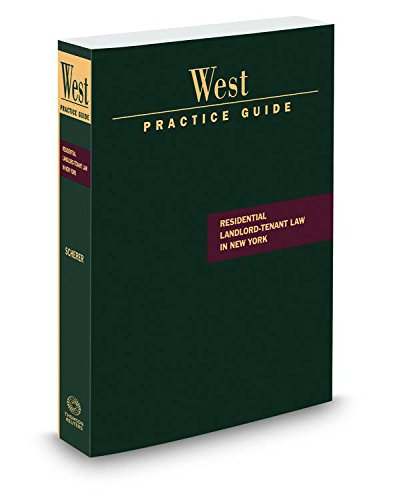 9780314625762: Residential Landlord-Tenant Law in New York, 2014-2015 ed.
