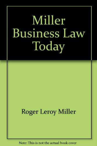 9780314627582: Business law today