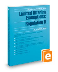 9780314629395: Limited Offering Exemptions: Regulation D 2014-2015 Edition